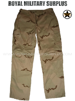 e2b9b4770b555 US Army Pants Trousers - DCU Desert Camouflage