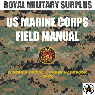 field manual us marine corps winter survival course handbook rh royalmilitarysurplus com marine corps field manuals land navigation marine corps field manual